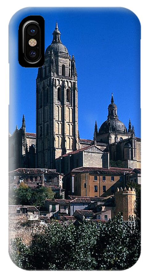 Cathedral IPhone X Case featuring the photograph Cathedral In Salamanca by Carl Purcell