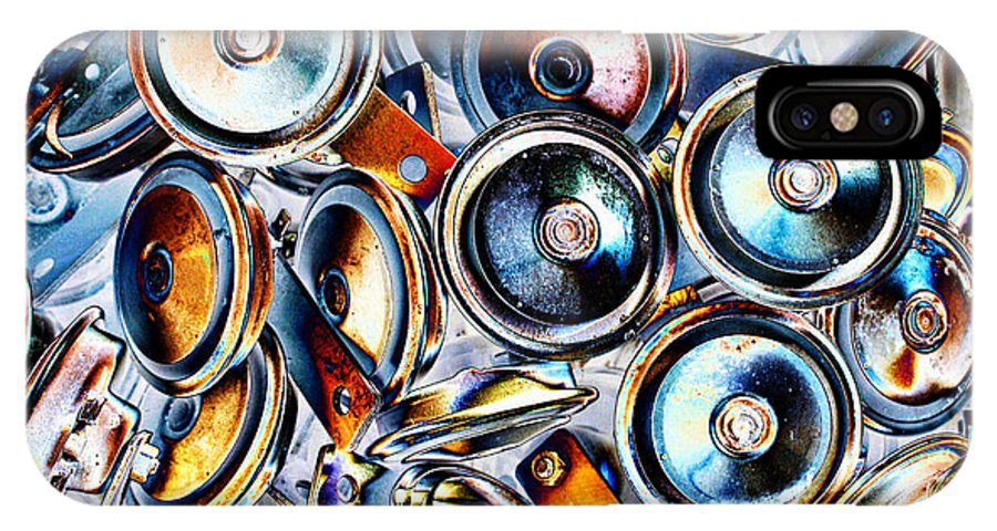Circle Abstract IPhone X Case featuring the photograph Circles by Sylvia Thornton