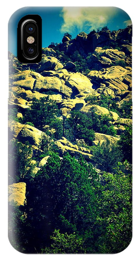 Granite Dells IPhone X Case featuring the photograph Dells Number Four by Holly Storz