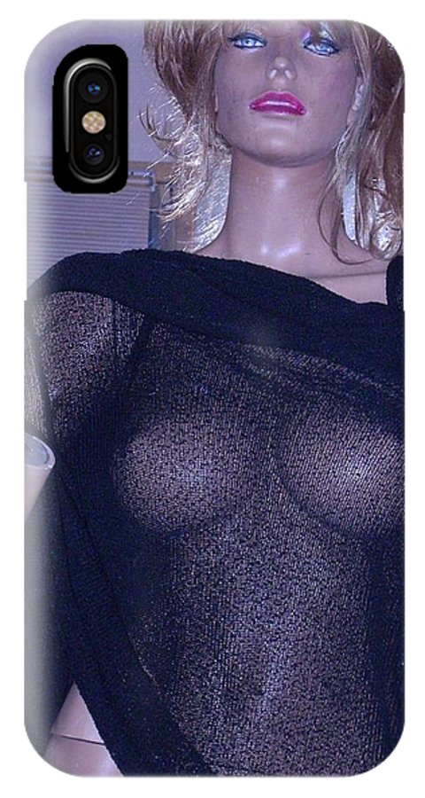 Digital IPhone X Case featuring the photograph Designing by HollyWood Creation By linda zanini