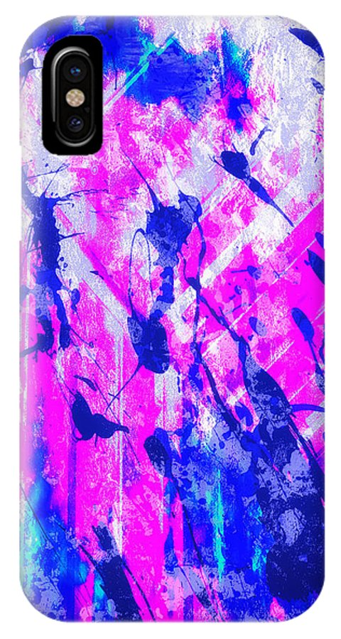 Fine Art IPhone X Case featuring the digital art Dreaming My Life by Francine Collier