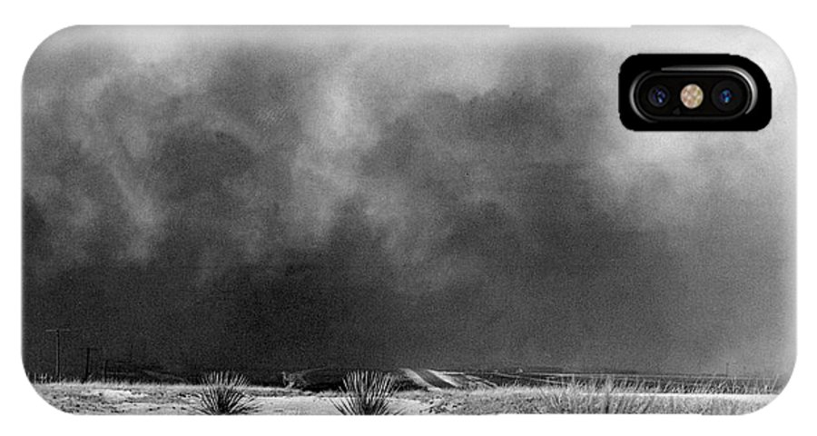 1936 IPhone X Case featuring the photograph Drought Dust Storm, 1936 by Granger