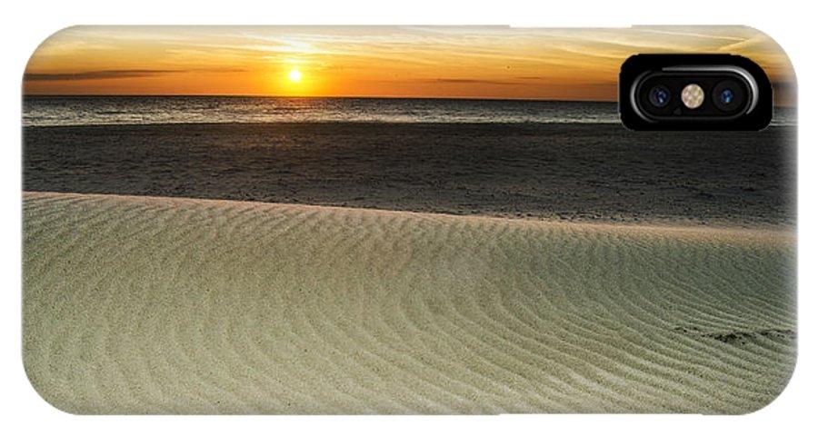 Amelia Island Sunrise IPhone X Case featuring the photograph Dune Sunrise by Island Sunrise and Sunsets Pieter Jordaan