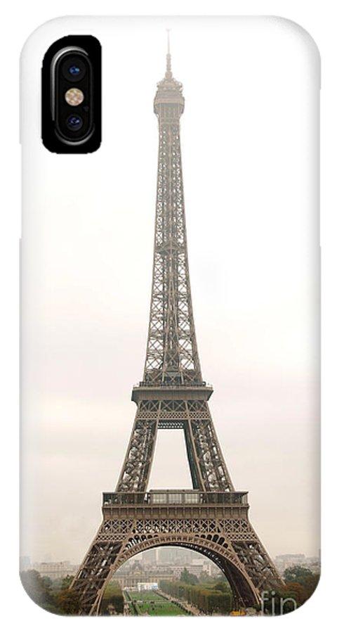 Eiffel IPhone X Case featuring the photograph Eiffel Tower by Elena Elisseeva