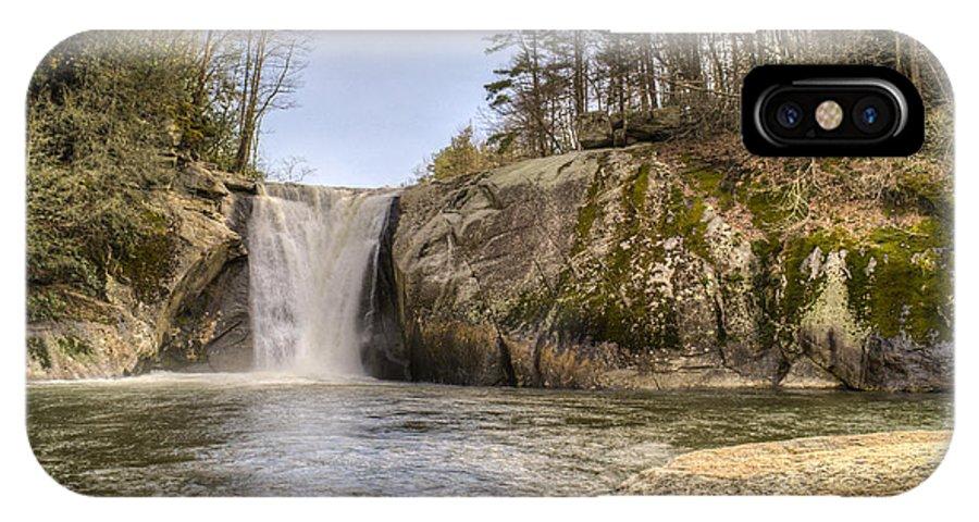 Elk IPhone X Case featuring the photograph Elk Creek Falls 36 by Douglas Barnett