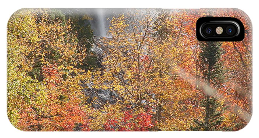 In Natrue IPhone X Case featuring the photograph Fall Colors by Rivka Waas