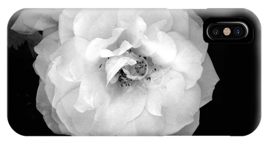 Flower IPhone X Case featuring the photograph Flower by Sierra Mallo