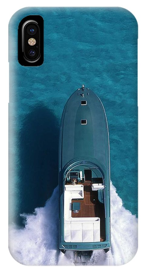 Magnum Marine IPhone X / XS Case featuring the photograph Furia Magnum by Magnum Marine