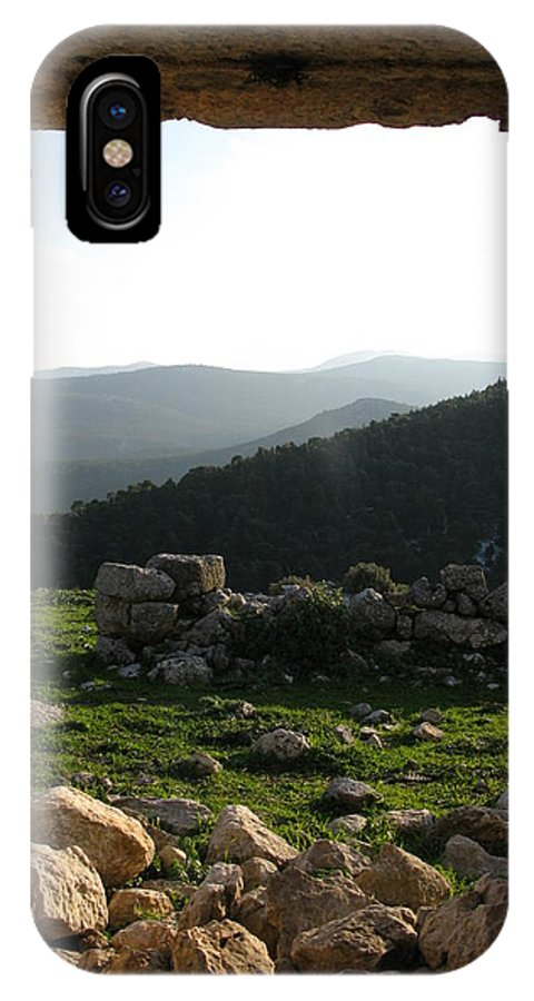 Eleutherae IPhone X Case featuring the photograph Gateway by Andonis Katanos