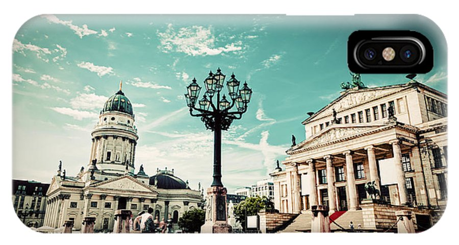 Gendarmenmarkt IPhone X Case featuring the photograph Gendarmenmarkt In Berlin Germany by Michal Bednarek