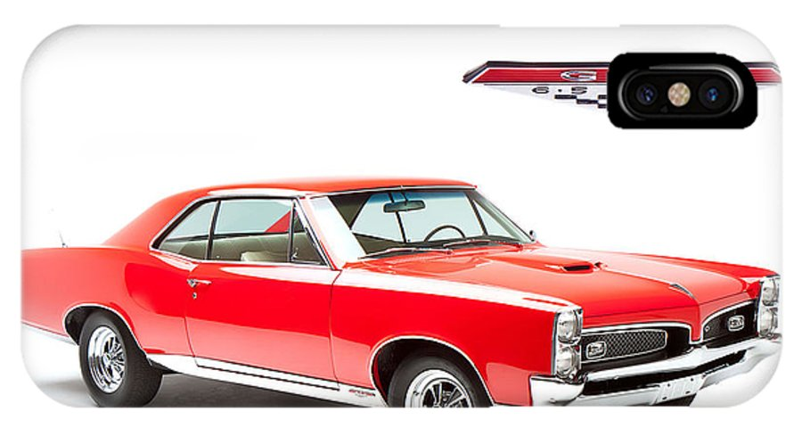 Gto IPhone X Case featuring the photograph GTO by Dean Farrell