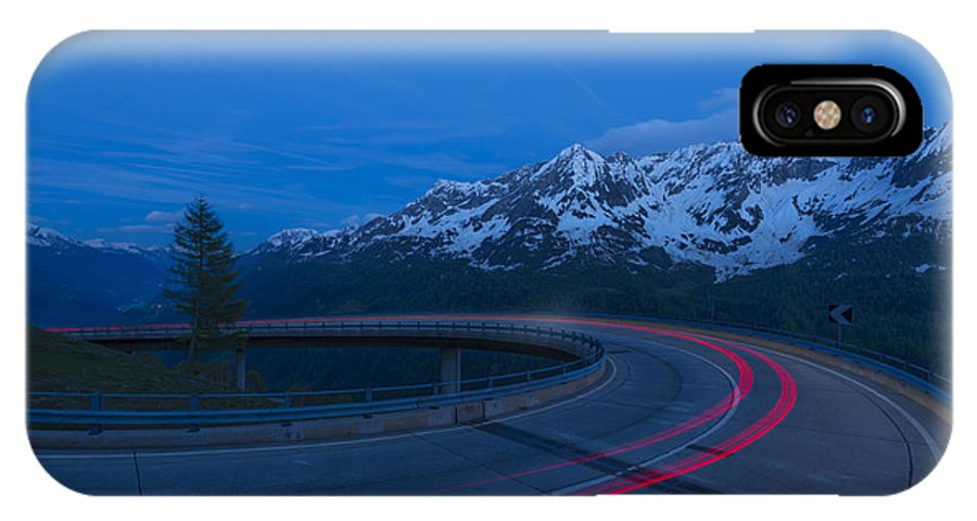 Hairpin Turn IPhone X Case featuring the photograph Hairpin Turn by Mats Silvan