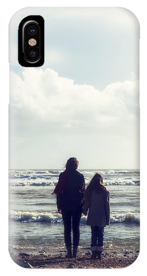 Woman IPhone X Case featuring the photograph Hand In Hand by Joana Kruse