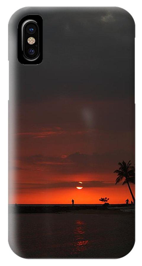 Hawaii IPhone X Case featuring the photograph Honolulu 6 by Nick Difi