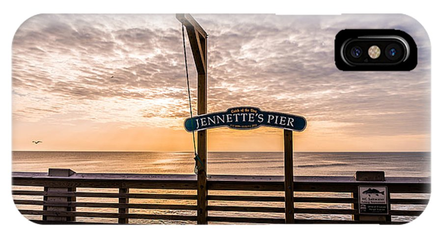 Jeanette's Pier IPhone X Case featuring the photograph Jeanette's Pier by Stacy Abbott