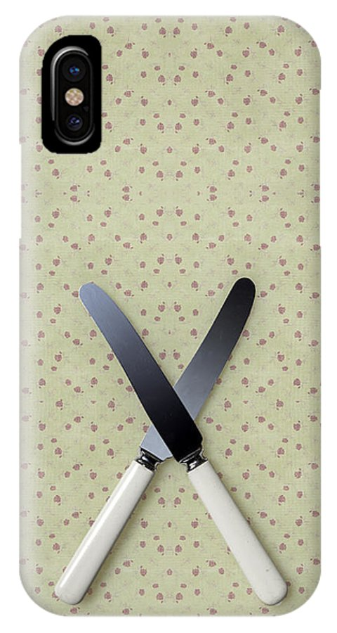 Knife IPhone X Case featuring the photograph Knives by Joana Kruse
