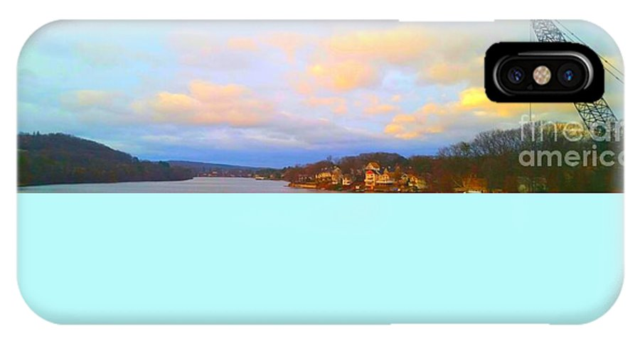Lake In Framingham IPhone X / XS Case featuring the photograph Lake by Rose Wang