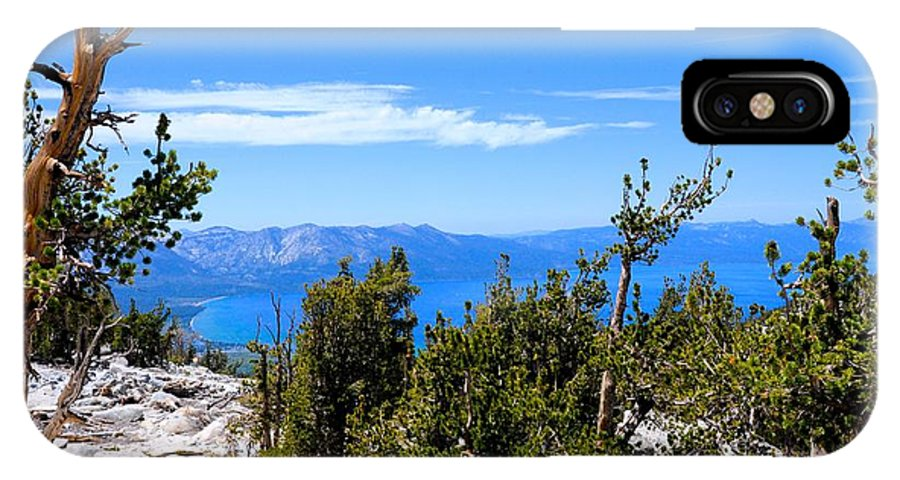 Landscape IPhone X Case featuring the photograph Lake Tahoe by Roy Braley