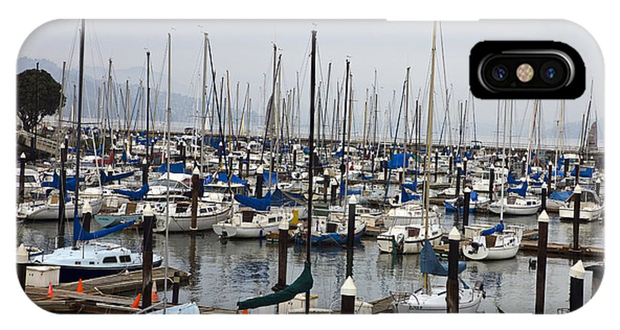 Travel IPhone X Case featuring the photograph Marina San Francisco by Jason O Watson
