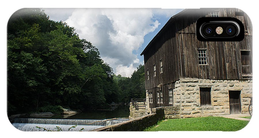 Barn IPhone X Case featuring the photograph Mcconnells Mills by Diana Weir