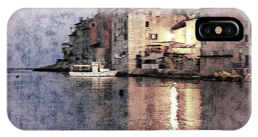 Rovinj IPhone X Case featuring the photograph Memory Of Rovinj - Croatia by Madeline Ellis