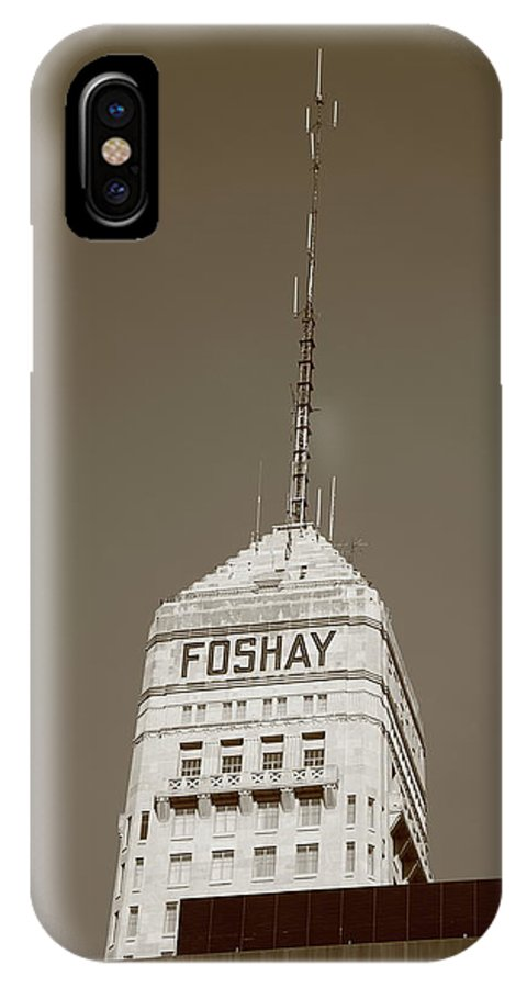 America IPhone X Case featuring the photograph Minneapolis Tower by Frank Romeo