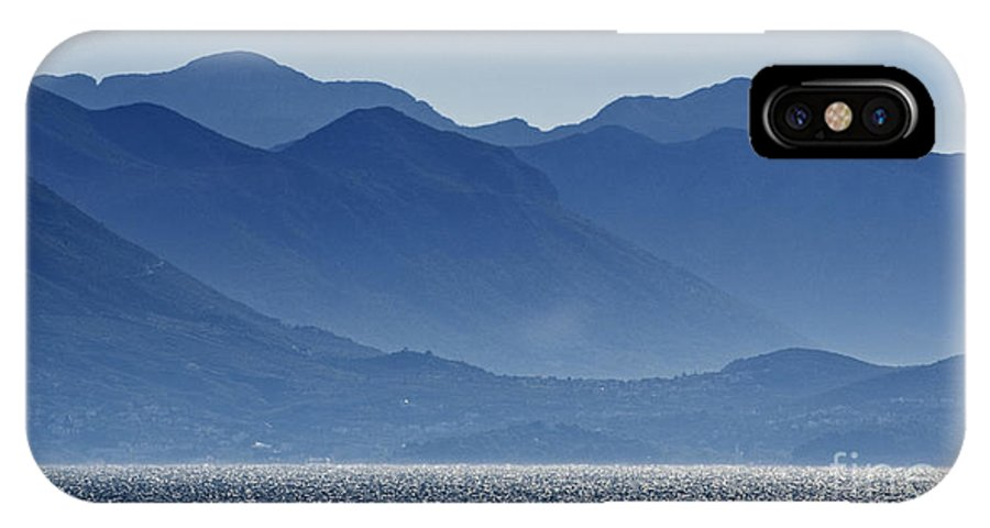 Croatia IPhone X Case featuring the photograph Misty Mountains by Paul and Helen Woodford