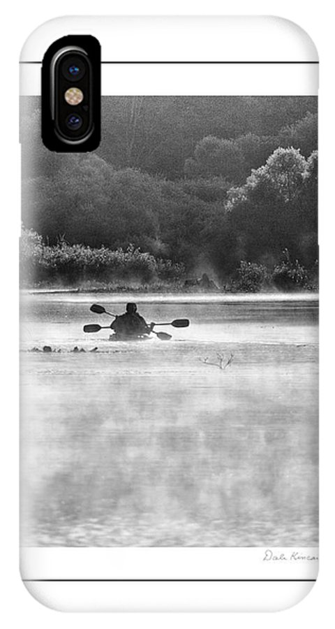 Fishing IPhone X Case featuring the photograph Morning Adventure by Dale Kincaid