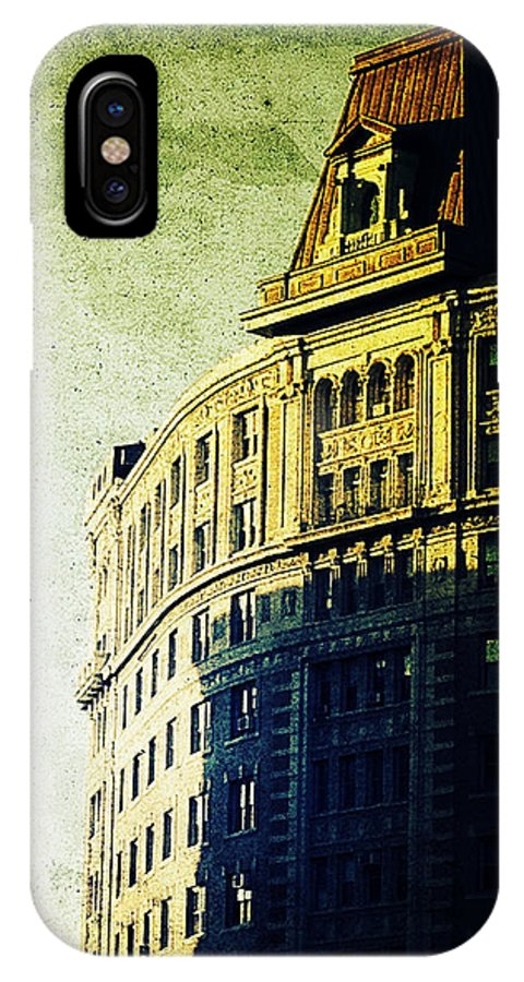 Nyc IPhone X Case featuring the photograph Morningside Heights Green by Natasha Marco