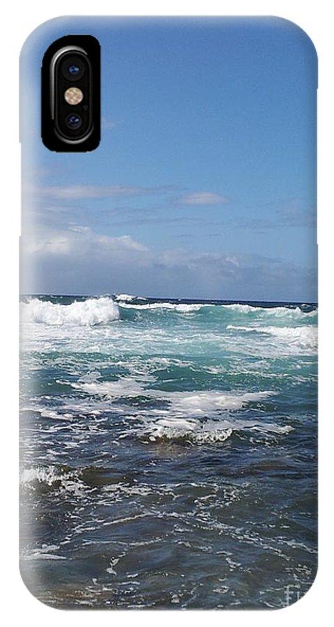 Ocean IPhone X Case featuring the photograph Ocean by Chandelle Hazen