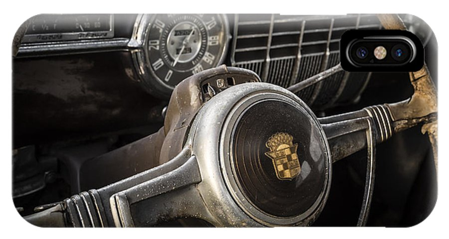 1941 Cadillac IPhone X Case featuring the photograph Old Money by Dennis Hedberg
