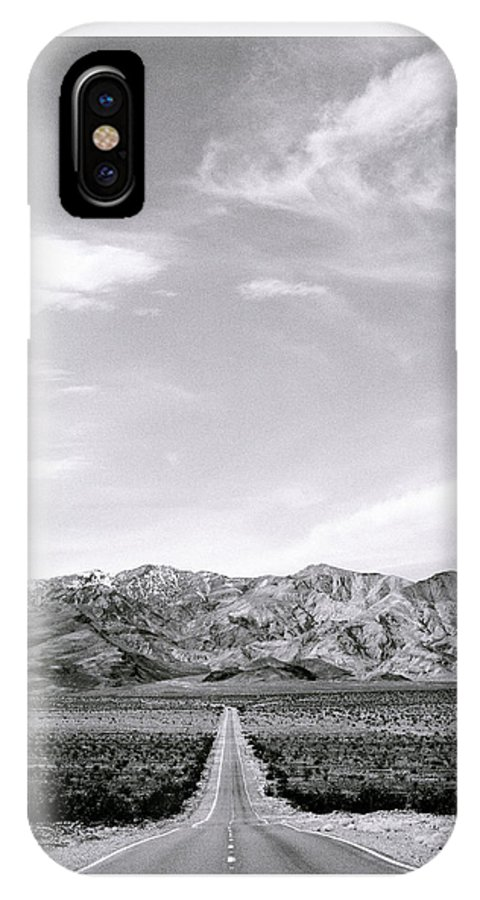 Inspiration IPhone X Case featuring the photograph On The Road by Shaun Higson