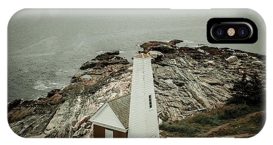 Pemaquid Point Light IPhone X Case featuring the photograph Pemaquid Point Lighthouse by Sherry Boylan
