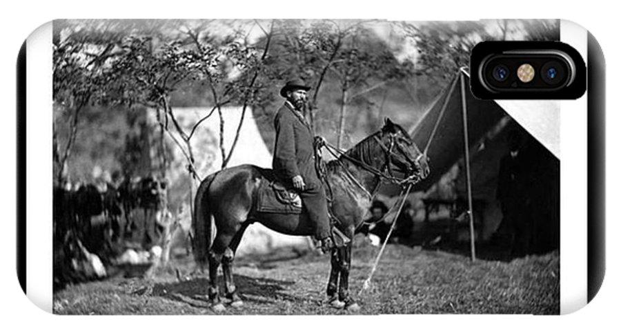 Allan Pinkerton IPhone X Case featuring the photograph Pinkerton Man by David Call