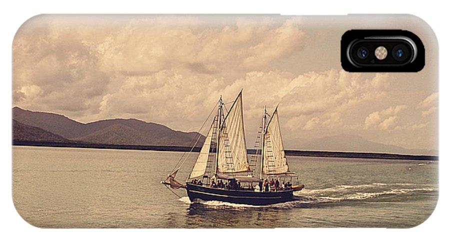 Sailing IPhone X Case featuring the photograph Sailing Ship by Girish J