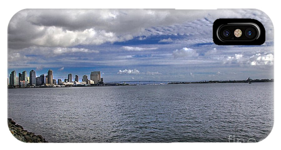 Califorina IPhone X Case featuring the photograph San Diego by Robert Bales