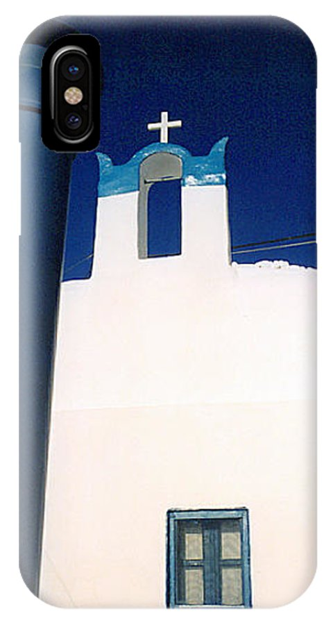Colette IPhone X / XS Case featuring the photograph Santorini Greece by Colette V Hera Guggenheim