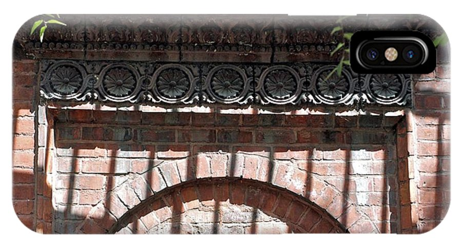 Brickwork IPhone X Case featuring the photograph Side Street by Joseph Yarbrough