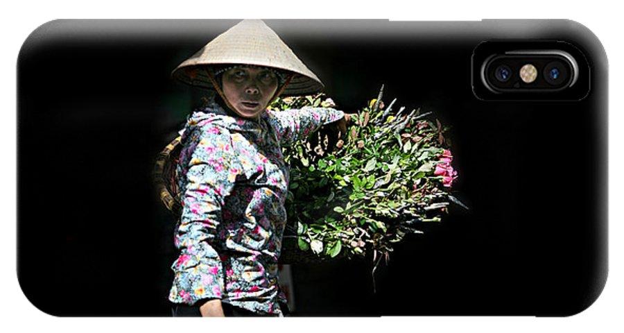 IPhone X Case featuring the photograph Single Light by Deetraveler Phan