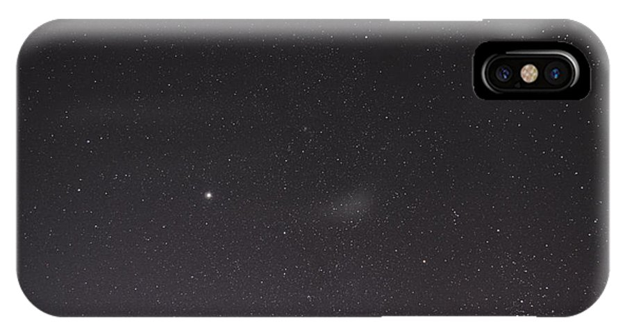 Sky IPhone X Case featuring the photograph So Many Stars by Luke Davis