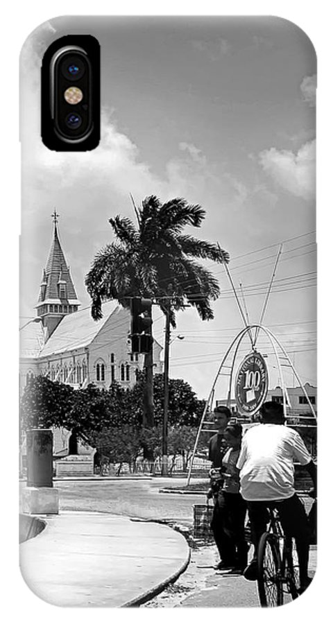 IPhone X Case featuring the photograph St. George's Cathedral - Georgetown Guyana by Jeetindra Harripershad
