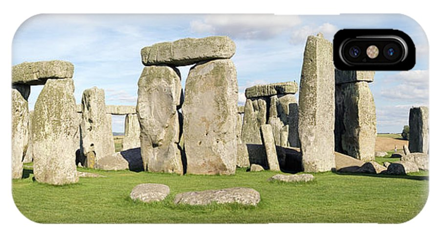 Stonehenge IPhone X Case featuring the photograph Stonehenge by Daniel Sambraus/science Photo Library