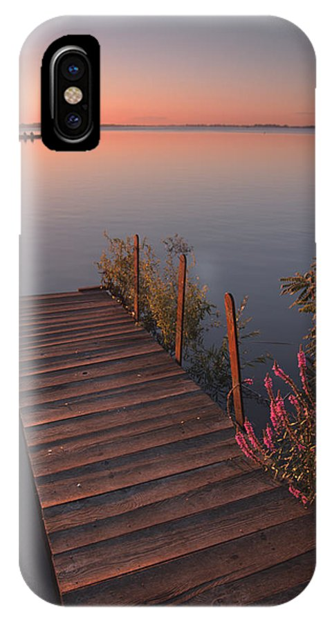 Landscape IPhone X Case featuring the photograph Summer Morning by Davorin Mance