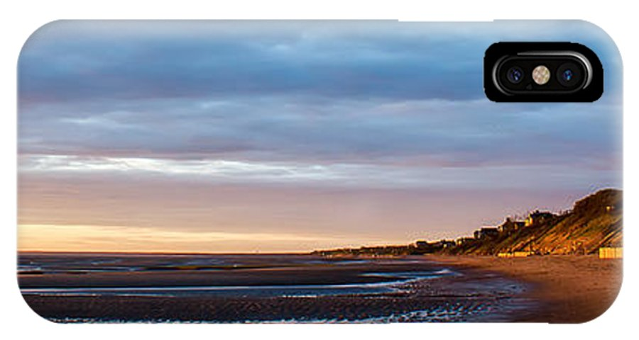 Sunset IPhone X Case featuring the photograph Sunset At First Encounter Beach by Katherine Hawkins