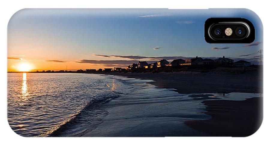 Landscape IPhone X Case featuring the photograph Sunset by Jonathon Shipman