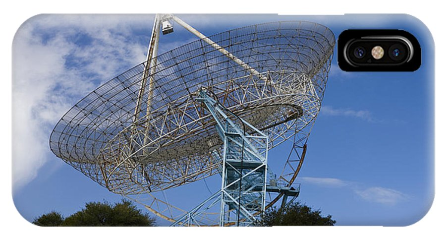 Travel IPhone X Case featuring the photograph The Dish Stanford University by Jason O Watson