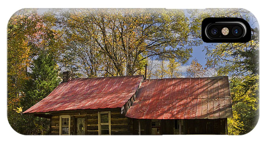 Appalachia IPhone X Case featuring the photograph The Old Homestead by Debra and Dave Vanderlaan