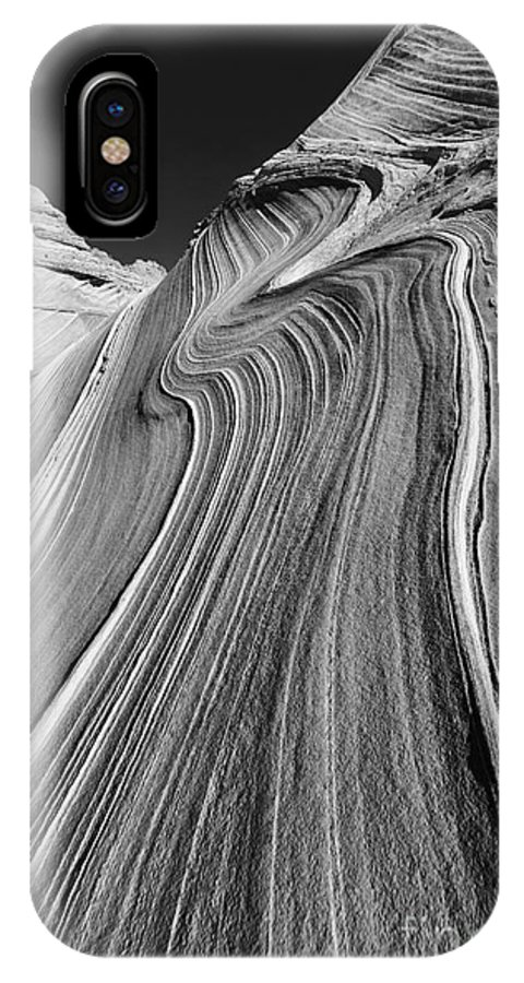 Vertical IPhone X Case featuring the photograph The Wave In The North Coyote Buttes by Henk Meijer Photography