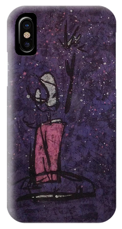 Dance IPhone X Case featuring the tapestry - textile Tobin by Kevin Houchin