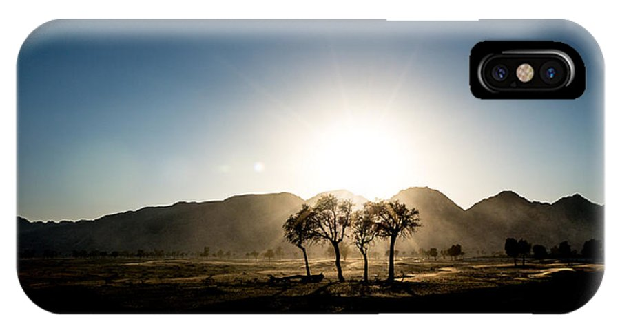 Fine Art IPhone X Case featuring the photograph Wild Nature by Ahmed Rashed